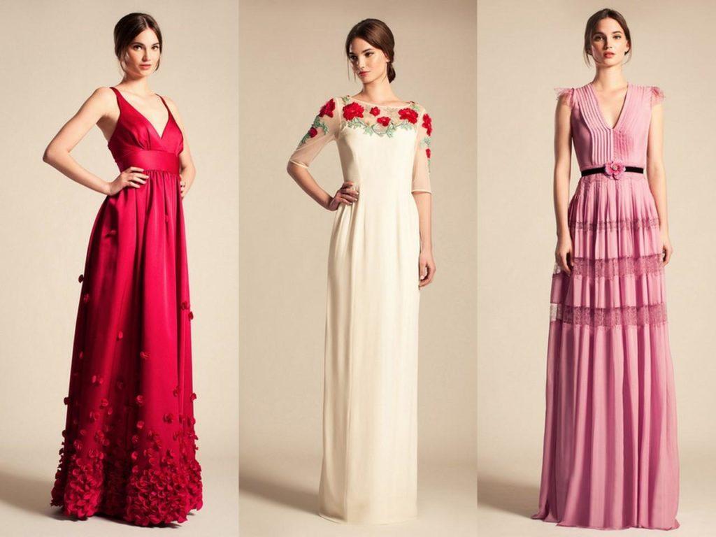Фасоны вечерних платьев