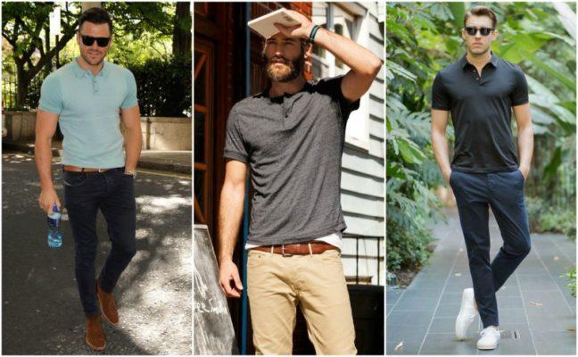 Как должна сидеть футболка на мужчине