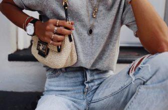 Как заправить футболку в джинсы