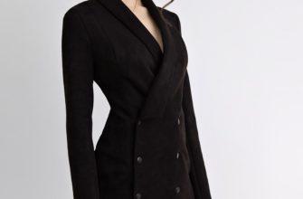бархатное платье пиджак