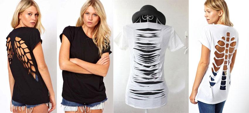 Как порезать футболку с рисунком? 1