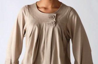 блуза для полной