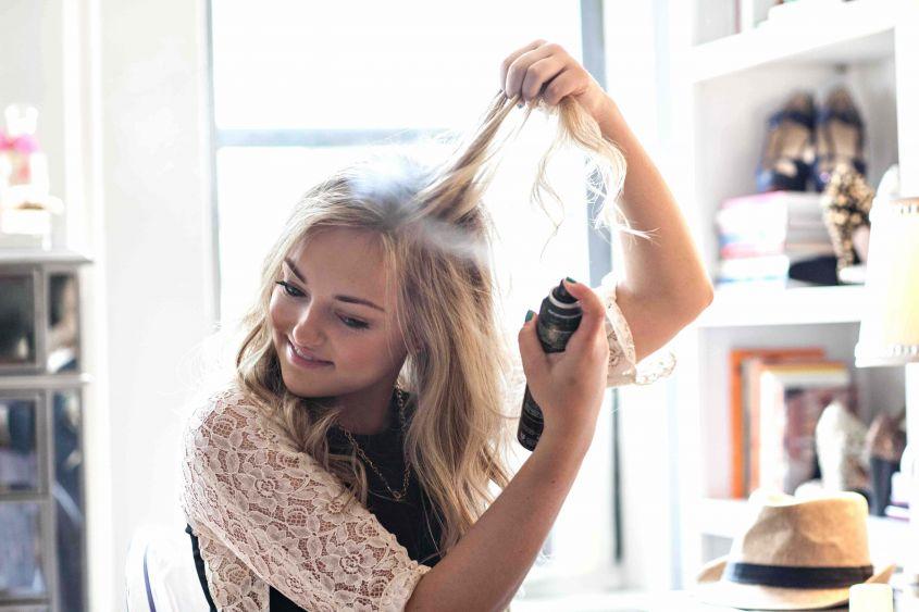 Как пользоваться сухим шампунем 2
