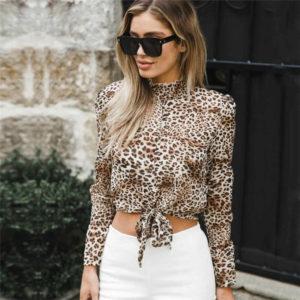 леопард и белый