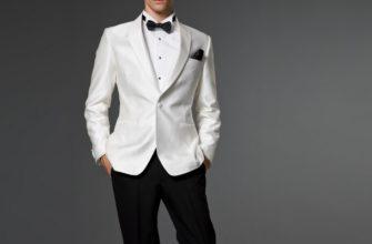 С чем носить белый мужской пиджак?