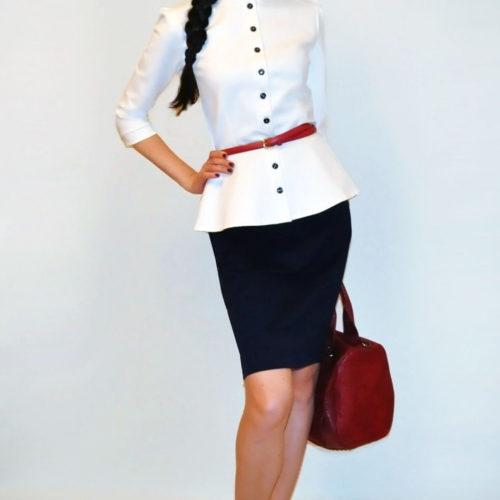 С чем носить белый пиджак женщинам