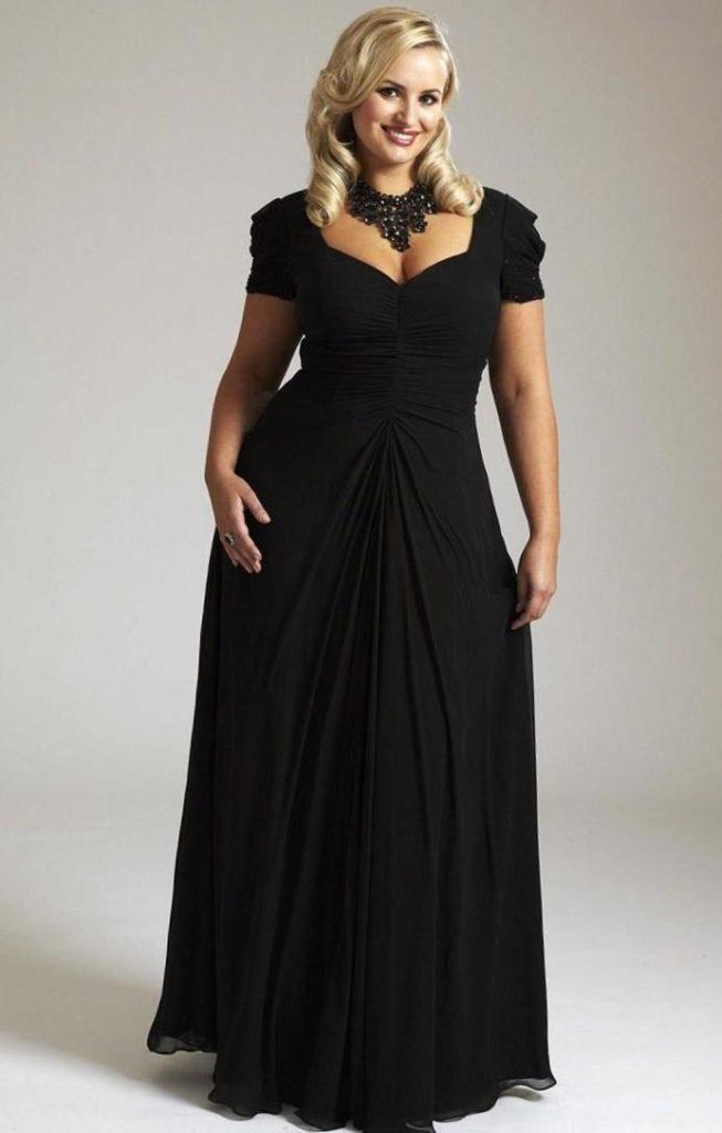 Как выбрать фасон вечернего платья с завышенной талией