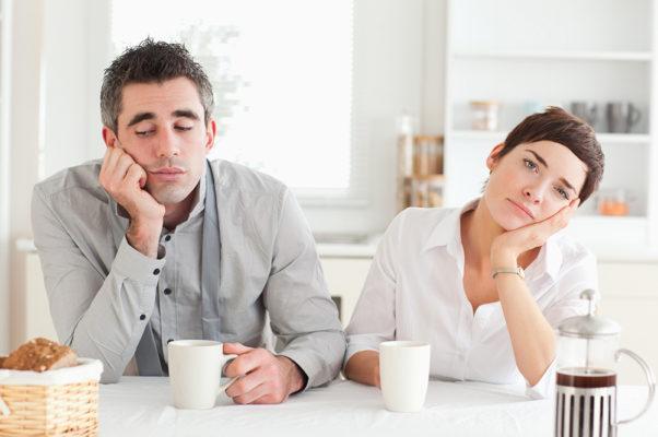 Не о чем поговорить с мужем