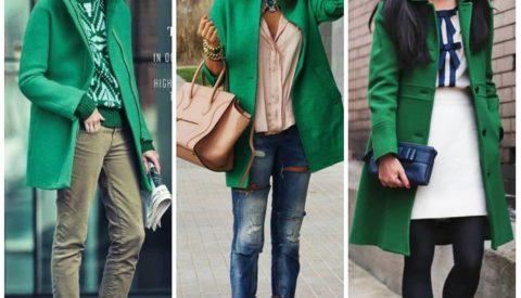 Зелёный жакет