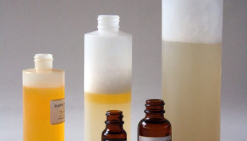 Ингредиенты для приготовленяи натурального шампуня.