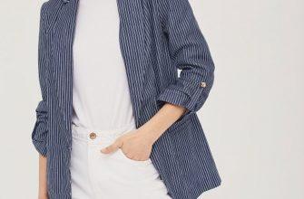 С чем носить полосатый пиджак