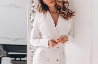 Прическа под платье пиджак