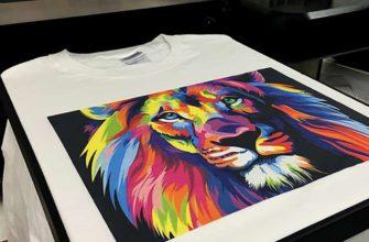 Виды печати на футболках