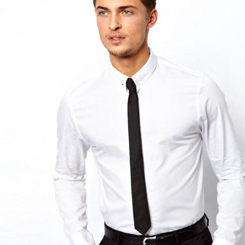 Можно ли носить галстук без пиджака