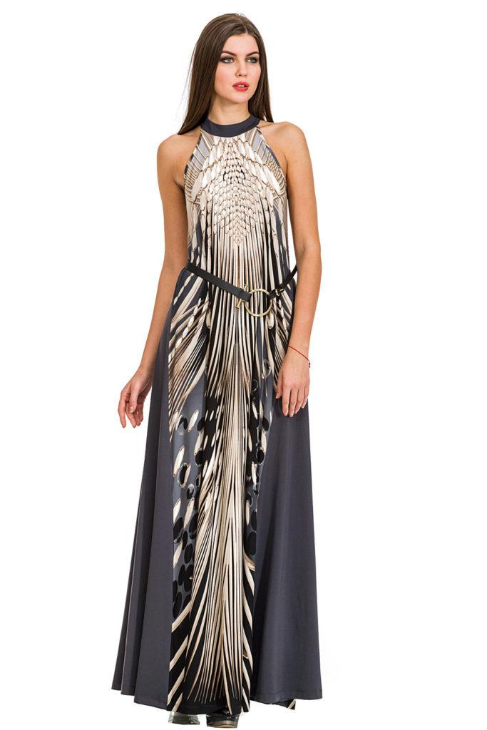 Как выбрать фасон вечернего платья с американской проймой