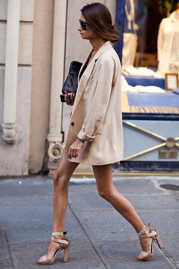 Пиджак Oversize Street Style.