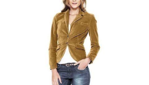 С чем носить женский вельветовый пиджак
