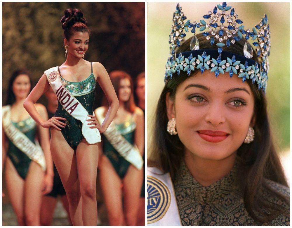 Айшвария Рай Баччан - индийская красавица, мисс Мира 1994 г.