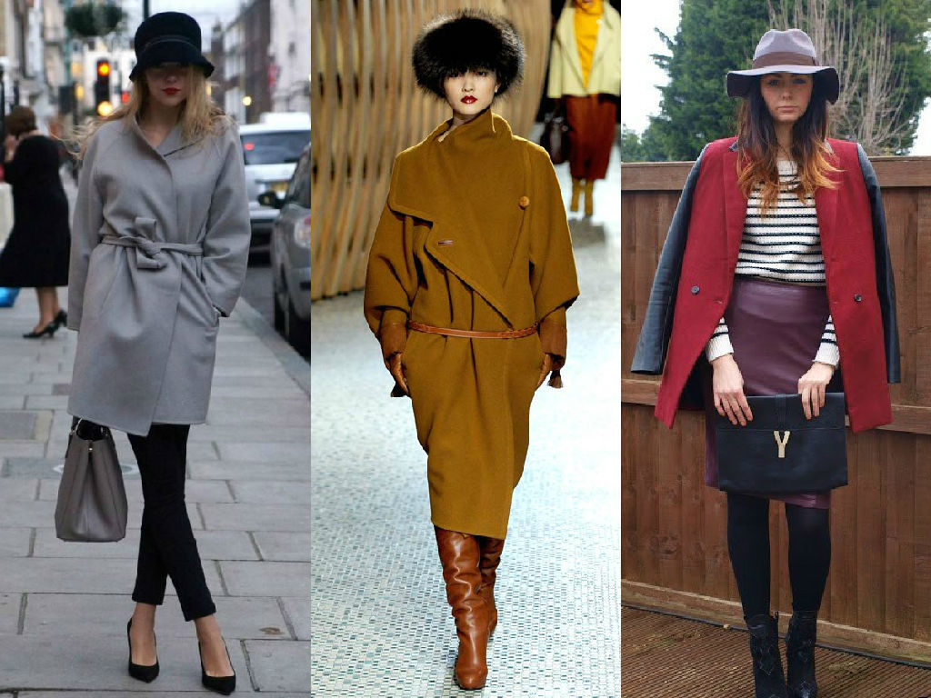 С какой обувью нужно носить женское пальто? 2