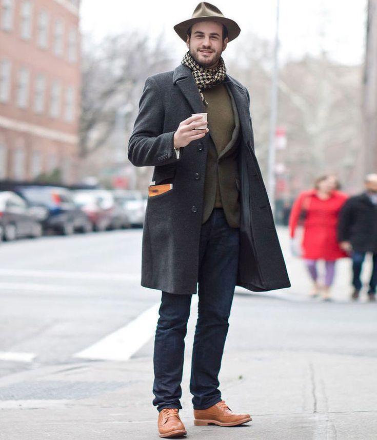 фото обувь на ноги к пальто мужская каждом номере