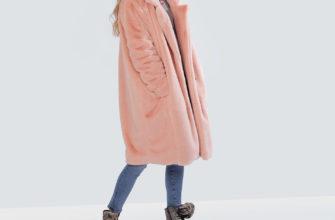 С чем носить пальто из искусственного меха