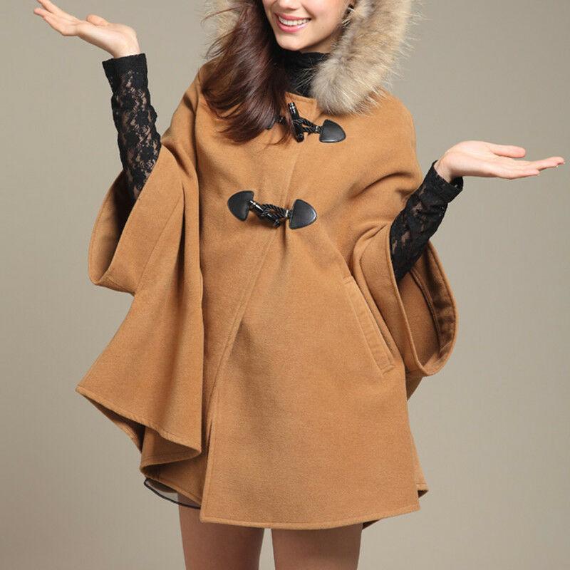С чем носить пальто с капюшоном летучая мышь