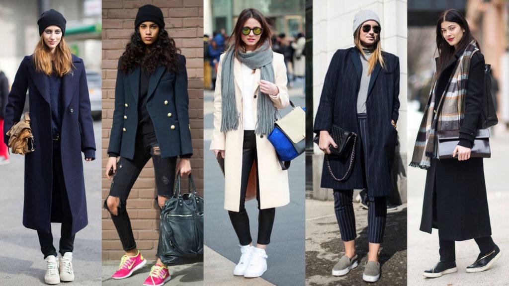 С какой обувью нужно носить женское пальто? в зависимости от сезона