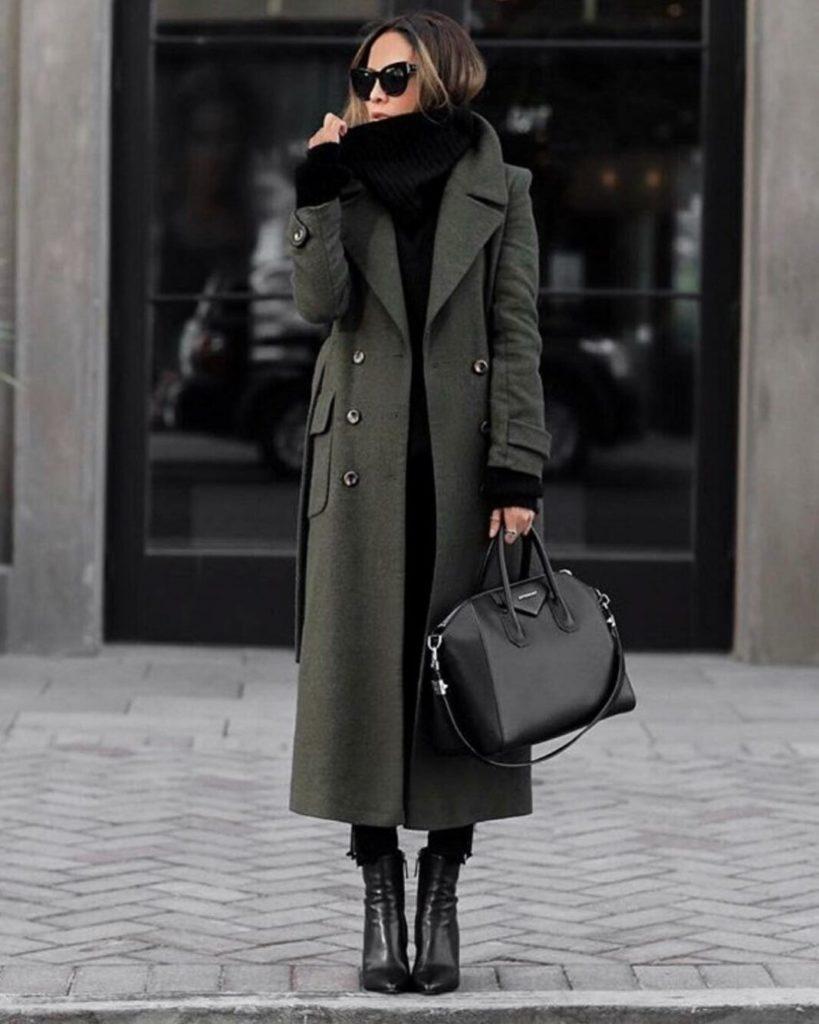 Какое пальто можно назвать классическим зимнее