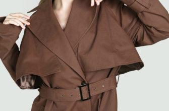 С чем носить женский тренч коричневого цвета