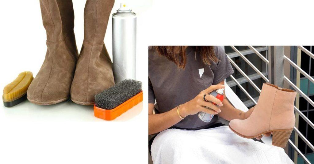 Как почистить искусственные замшевые сапоги в домашних условиях