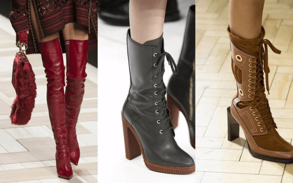 Какие женские сапоги в моде осенью 2019 года?