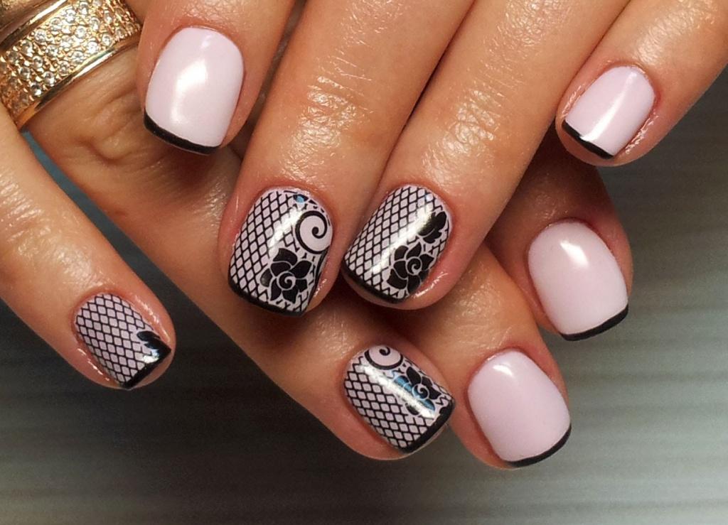 картинки дизайн коротких ногтей гель лаком фото новинки