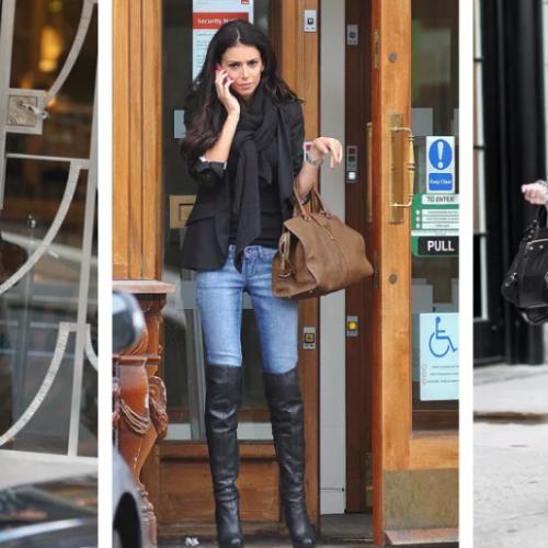 Как носить джинсы с сапогами?