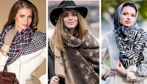 Как носить шарф с тренчем?