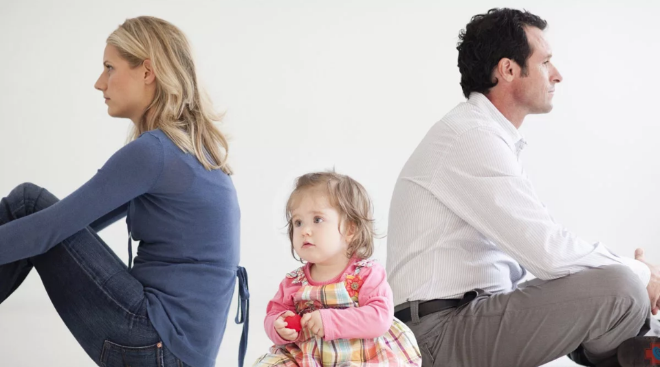 ссора в семье с ребенком