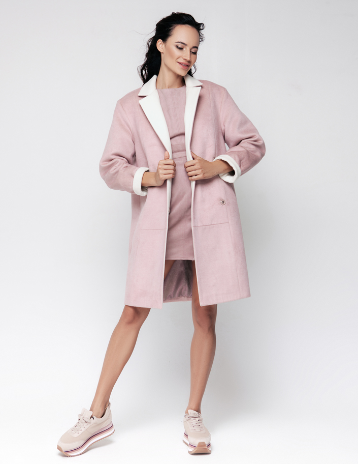 Ворсовая ткань для пальто