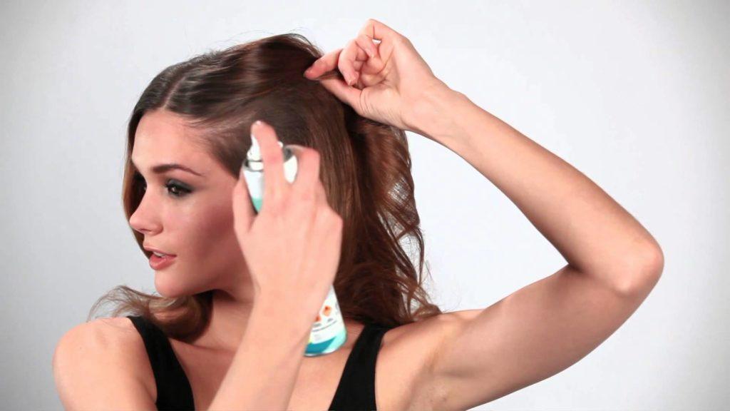 использование сухих шампуней