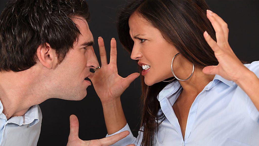 Картинка конфликт мужа и жены