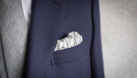 Как красиво сложить платок в карман пиджака