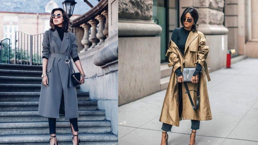 Какие плащи в моде осенью 2019 года