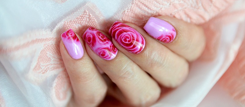 розовый арт