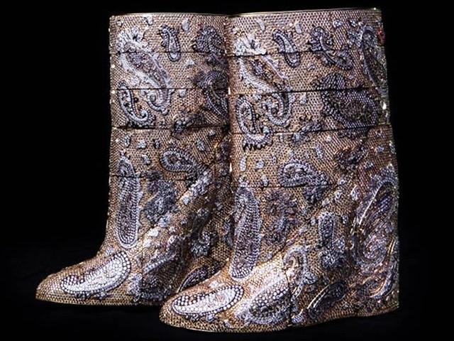 A.F. Vandevorst Diamond Boots