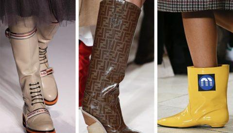 Какие сапоги в моде осенью-зимой 2021 года