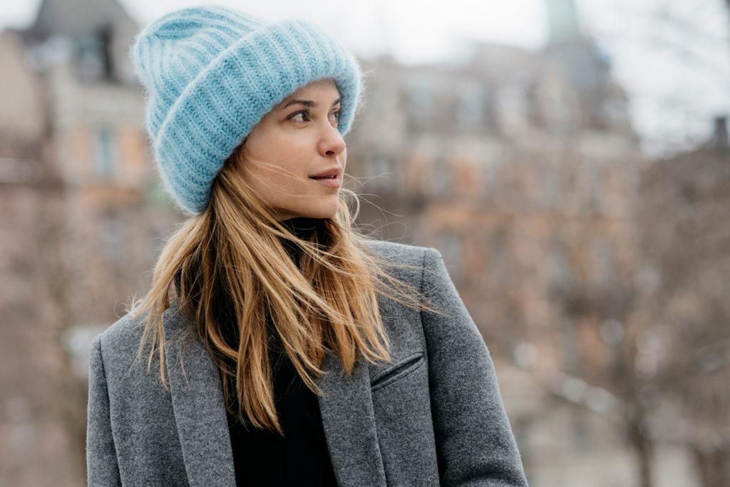 Носят ли шапки с классическими пальто? 1
