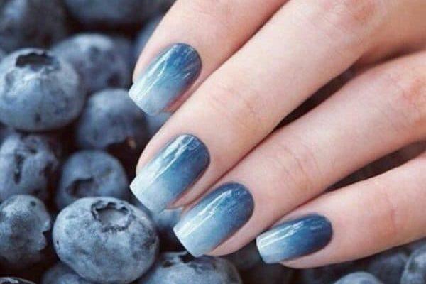 Как сделать дизайн омбре на ногтях гель-лаком