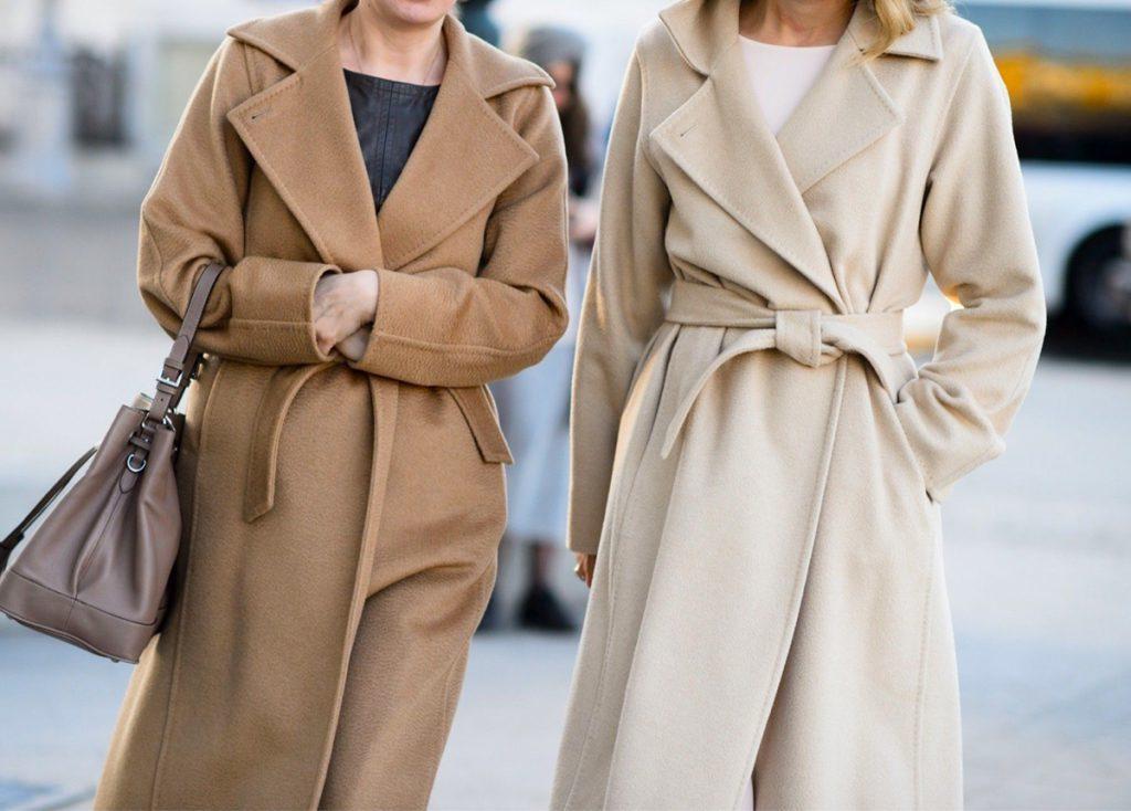 С чем носить пальто длины миди? 1