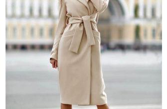 С чем носить женское пальто миди