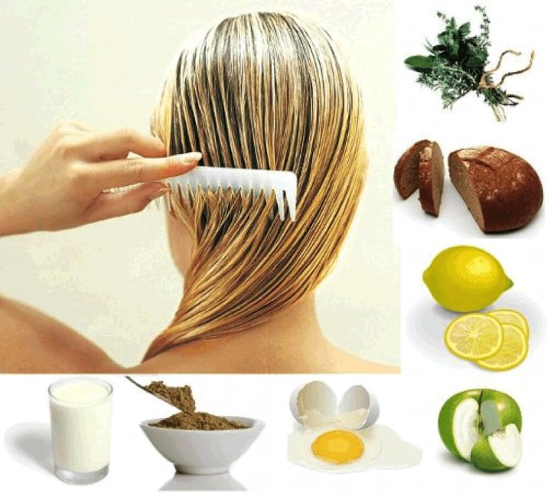 Ингредиенты домашних масок.