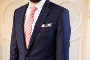 сочетания галстука и платка