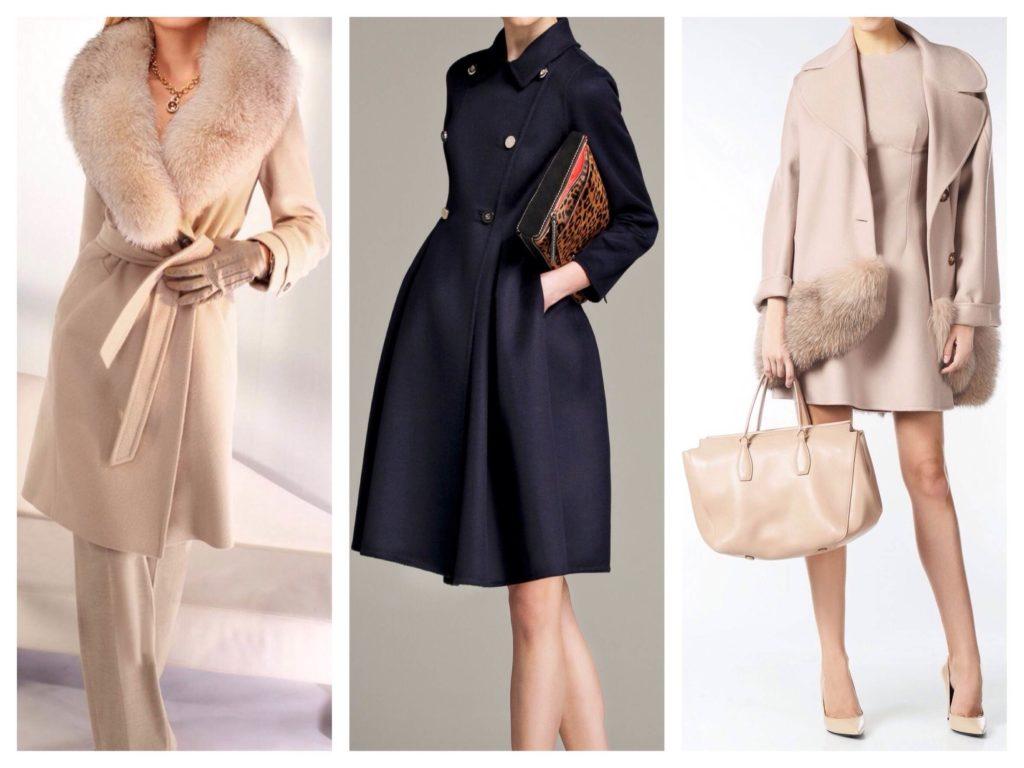 Какое пальто можно назвать классическим с чем носить